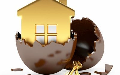 Why might Easter be a good time to buy a house?